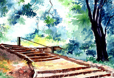 Steps To Eternity Original by Anil Nene