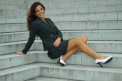 Photograph - Steps To Fashion by Mike Martin