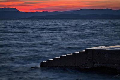 Photograph - Steps To The Adriatic - Slovenia by Stuart Litoff