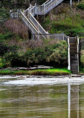 Photograph - Steps To The Beach by Jerry Sodorff