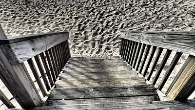 Photograph - Steps To The Beach by Susan Jensen