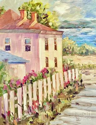 Painting - Steps To The Hudson by Patsy Walton