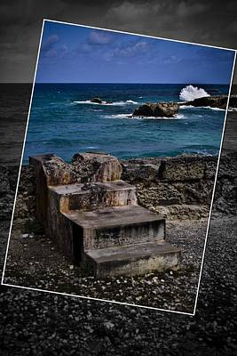 Photograph - Steps To The Ocean2 by Ted Petrovits III