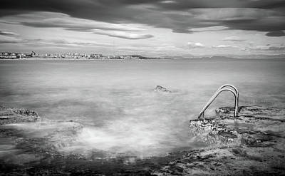 Photograph - Steps To The Smoky Sea by Gary Gillette