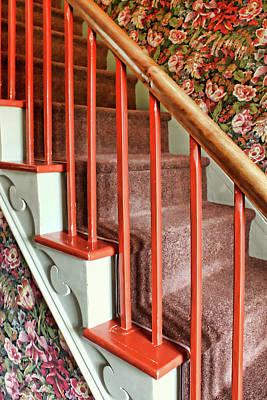 Photograph - Steps - Wallpaper by Nikolyn McDonald