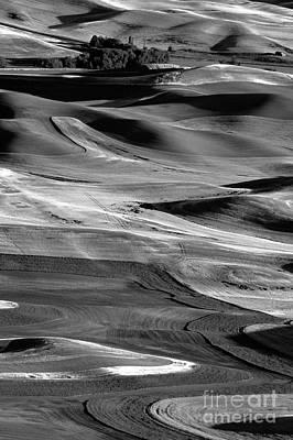 Photograph - Steptoe Butte Wheat Fields by Jim Corwin