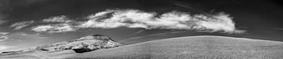 Dirt Roads Photograph - Steptoe Under A Cloud by Jon Glaser