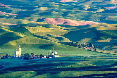 Contour Farming Photograph - Steptoe View by Todd Klassy