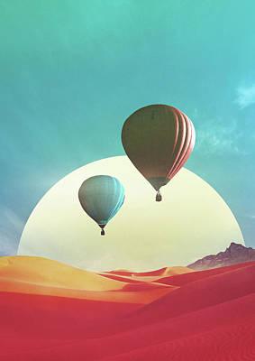 Trippy Digital Art - Stereolab by Fran Rodriguez