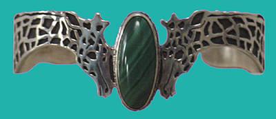Sterling Silver Bracelet Jewelry - Sterling Giraffe Bracelet by Shirley Heyn