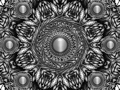 Digital Art - Sterling Silver by Robert Orinski