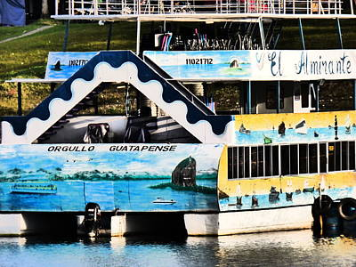 Guatape Photograph - Stern Mural by Michael Cook