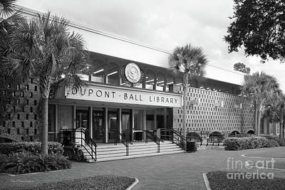 Photograph - Stetson University Dupont-ball Library by University Icons