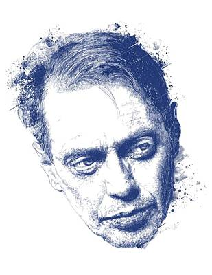 American West - Steve Buscemi by Chad Lonius