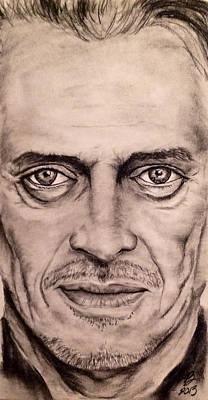 Lebowski Drawing - Steve Buscemi by Tim Brandt