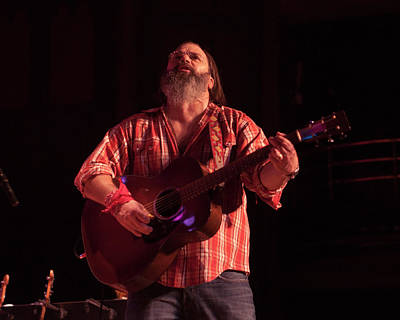 Photograph - Steve Earle @ Massey Hall by Jeff Ross