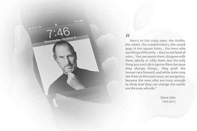 Photograph - Steve Jobs 1 by Anthony Rego