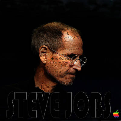Photograph - Steve Jobs 4 by Andrew Fare