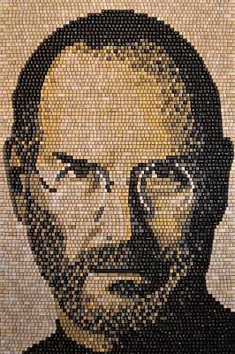 Mixed Media - Steve Jobs by Doug Powell