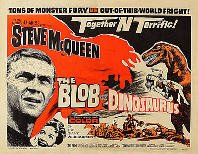Photograph - Steve Mcqueen In The Blob by Doc Braham