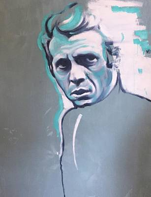 Painting - Steve Mcqueen by Matt Burke