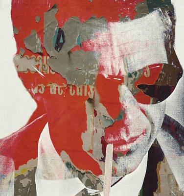 Male Wall Art - Digital Art - Steve Mcqueen by Paul Lovering