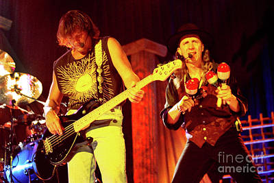 Photograph - Steve Miller Band-billy-norton-0763 by Gary Gingrich Galleries