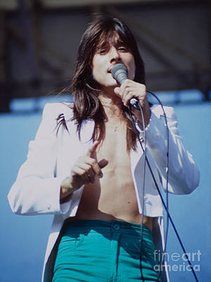 Steve Perry Of Journey At Day On The Green Ca - July 1980 Original