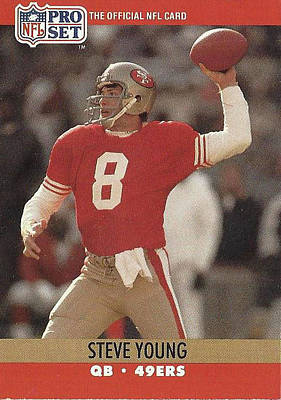 Photograph - Steve Young No.8 Qb 49ers by Jay Milo