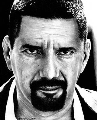 Drawing - Steven M Quezada As Gomie by Rick Fortson