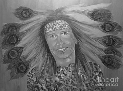 Painting - Steven Tyler Art by Jeepee Aero