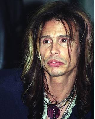 Aerosmith Photograph - Steven Tyler by Bob Guthridge