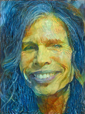 Painting - Steven Tyler by Paul Van Scott