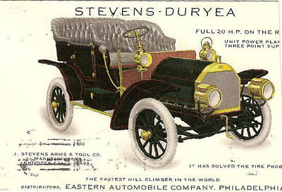 Philadelphia Pa Painting - Stevens-duryea Ad by Imagery-at- Work