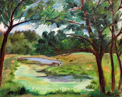 Stevenson Rd. Pond Art Print