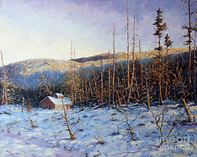 Walter Pranke Painting - Steve's Place by Richard T Pranke