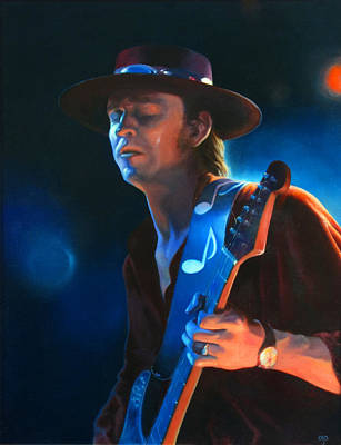 Painting - Stevie by Carol Phenix