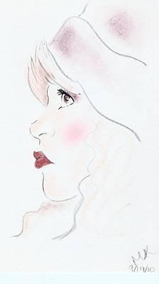 Stevie Nicks Drawing - Stevie by Michelle Kinzler