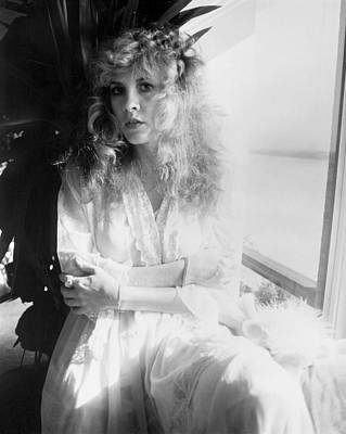 Stevie Nicks Photograph - Stevie Nicks 1981 No.2 by Chris Walter