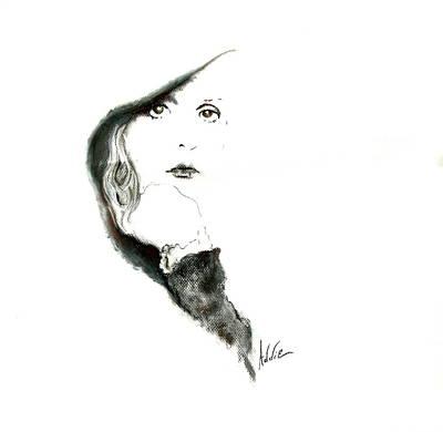Stevie Nicks Art Print by Addie Coppola