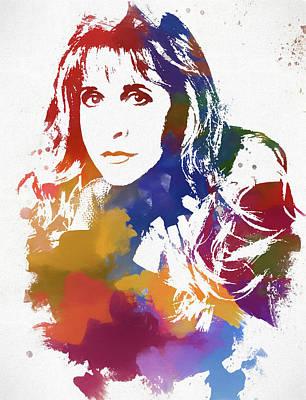 Painting - Stevie Nicks by Dan Sproul