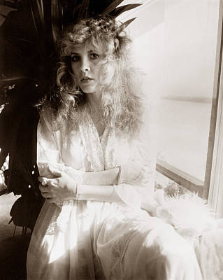 Stevie Nicks Photograph - Stevie Nicks 1981 No.1 by Chris Walter