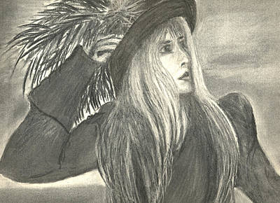 Stevie Nicks Art Print by Gina Cordova