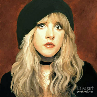 Painting - Stevie Nicks by Shirley Stalter