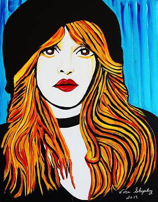 Painting - Stevie by Nora Shepley