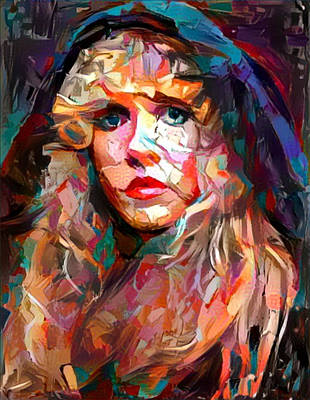 Painting - Stevie by Paul Van Scott