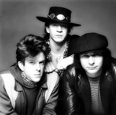 Stevie Ray Vaughan Photograph - Stevie Ray Vaughan And Double Trouble 1983 by Mountain Dreams