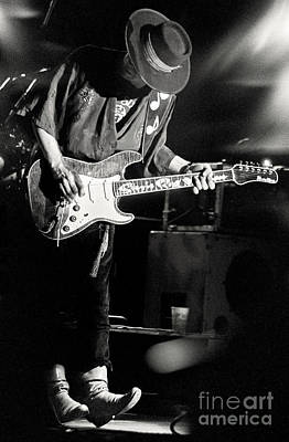 Srv Photograph - Stevie Ray Vaughan by Chuck Spang
