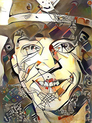Painting - Stevie Ray Vaughan by Paul Van Scott