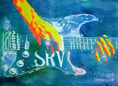 Stevie Ray Vaughan Original by Robert Nipper